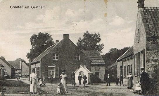 Sjöttekapelke omstreek 1910