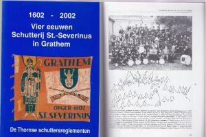 Fraai gedenkboek – Schutterij Grathem
